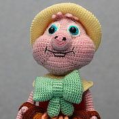 Мягкие игрушки ручной работы. Ярмарка Мастеров - ручная работа Поросенок Фунтик. Handmade.