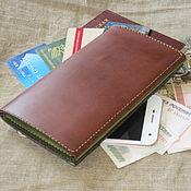 Wallets handmade. Livemaster - original item Purse. Organizer. Clutch. Handmade.