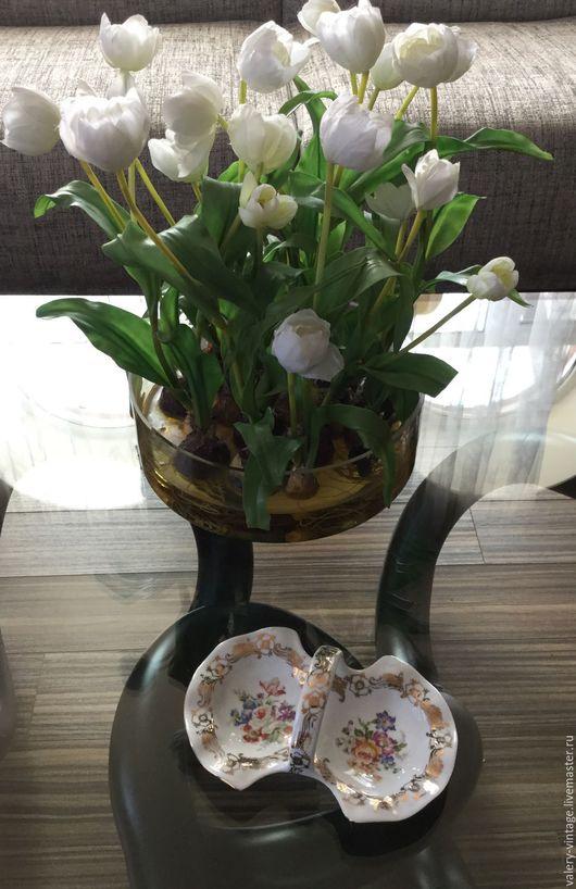 Винтажная посуда. Ярмарка Мастеров - ручная работа. Купить Минажница Limoges, France.. Handmade. Комбинированный, блошиный рынок, винтаж, золочение