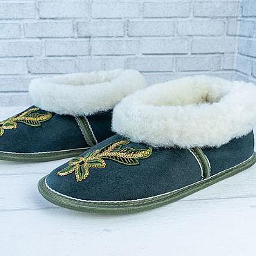 Обувь ручной работы. Ярмарка Мастеров - ручная работа Чуни женские на мягкой подошве. Handmade.
