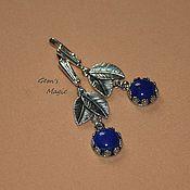 Украшения handmade. Livemaster - original item Earrings of lapis lazuli