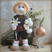 Куклы и игрушки ручной работы. Ярмарка Мастеров - ручная работа ДОМОВОЙ Федор, кукла-оберег для дома. Handmade.