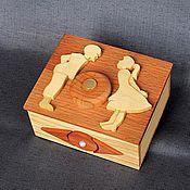 Для дома и интерьера ручной работы. Ярмарка Мастеров - ручная работа Шкатулка с секретом. Handmade.