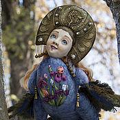 Куклы и игрушки handmade. Livemaster - original item Gamayun - prophetic bird of wisdom and happiness.. Handmade.