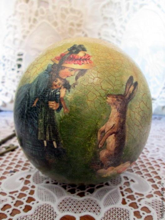Музыкальные шарики ручной работы. Ярмарка Мастеров - ручная работа. Купить Музыкальный шар-неваляшка Винтаж. Handmade. Разноцветный, дети
