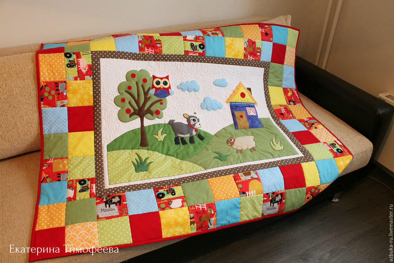 Как сшить лоскутное одеяло вручную