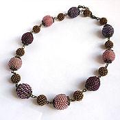Украшения handmade. Livemaster - original item Necklace-necklace of beaded beads