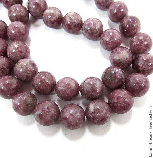 Натуральный Турмалин 8-12 мм, Рубеллит бусина шар. Бусины турмалина, рубеллита для колье, турмалиновые бусины шары для браслетов, розовый турмалин бусины для серег.