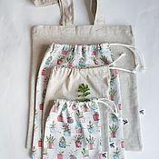 Классическая сумка ручной работы. Ярмарка Мастеров - ручная работа Эко-сумка.Льняная сумка. Handmade.