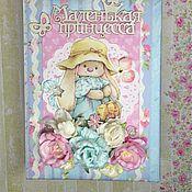 """Фотоальбомы ручной работы. Ярмарка Мастеров - ручная работа Фотоальбом для маленькой принцессы """"Зайка Ми"""". Handmade."""