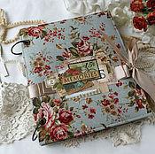 Канцелярские товары handmade. Livemaster - original item Scrapbook for photos. Handmade.