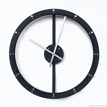 """Для дома и интерьера ручной работы. Ярмарка Мастеров - ручная работа Настенные часы 60см """"Raam-2 S"""". Handmade."""