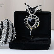 Jewelry Sets handmade. Livemaster - original item Set of beaded elegant. Handmade.