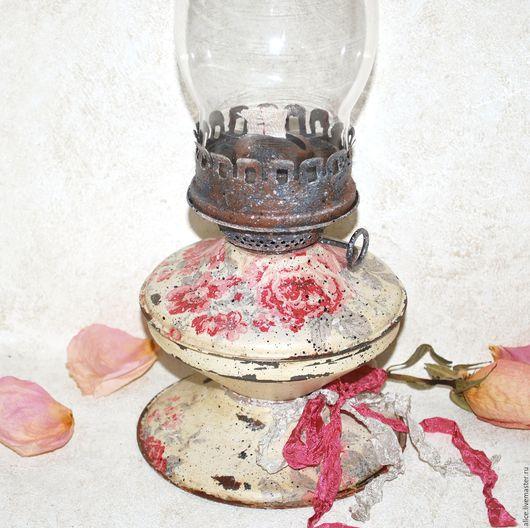 Освещение ручной работы. Ярмарка Мастеров - ручная работа. Купить Лампа керосиновая РОЗОВЫЙ СОН. Handmade. Сливочный, уютный подарок