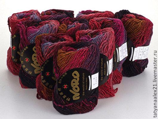 Вязание ручной работы. Ярмарка Мастеров - ручная работа. Купить Пряжа Noro Kama № 8. Handmade. Пряжа норо