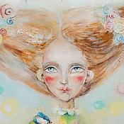 Картины и панно ручной работы. Ярмарка Мастеров - ручная работа Ключи от Весны. Handmade.