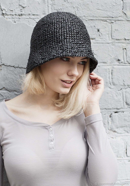 Черная летняя шляпа, Шляпы, Москва,  Фото №1