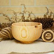 Посуда handmade. Livemaster - original item A deep Bowl of wood (14#74. Handmade.