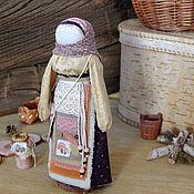"""Народная кукла ручной работы. Ярмарка Мастеров - ручная работа Куколклы Обереги: Успешница """"Грибная страсть"""". Handmade."""