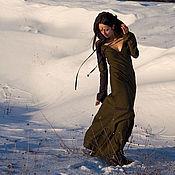 Одежда ручной работы. Ярмарка Мастеров - ручная работа Платье Эльфа. Handmade.