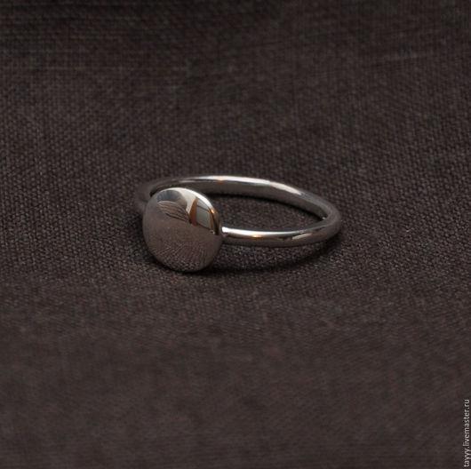 """Кольца ручной работы. Ярмарка Мастеров - ручная работа. Купить Кольцо """"Линза"""". Handmade. Серебряный, кольцо серебряное"""