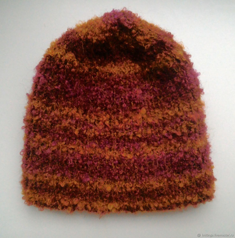 Knitted hat 56-58-60 cm, Caps, Vilnius,  Фото №1