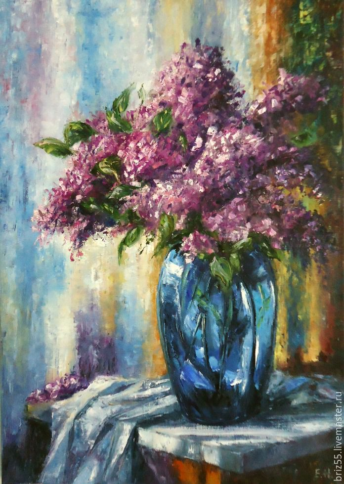 oil painting lilac, Pictures, Zelenograd,  Фото №1