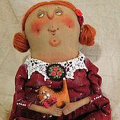 Куклы и игрушки ручной работы. Ярмарка Мастеров - ручная работа Душечка!. Handmade.