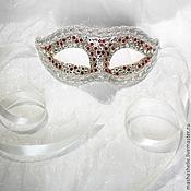 Одежда ручной работы. Ярмарка Мастеров - ручная работа Венецианская маска Коломбина (mini) № 78. Handmade.