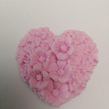 Косметика ручной работы. Ярмарка Мастеров - ручная работа Мыло сердце. Handmade.