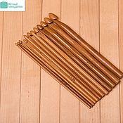 Материалы для творчества ручной работы. Ярмарка Мастеров - ручная работа Бамбуковые крючки для вязания. Handmade.