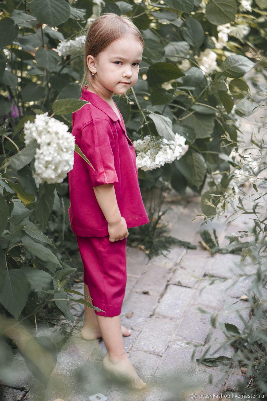 Пижама детская из конопли, Пижамы и халаты, Зеленоград,  Фото №1