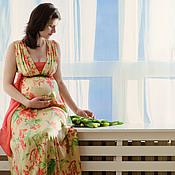 """Одежда ручной работы. Ярмарка Мастеров - ручная работа Платье для будущей мамы """"Цветочная мечта"""". Handmade."""