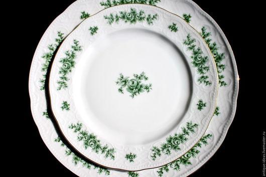 Винтажная посуда. Ярмарка Мастеров - ручная работа. Купить Десертные тарелки. Seltmann Weiden, Германия. Handmade. Антиквариат, винтажный стиль