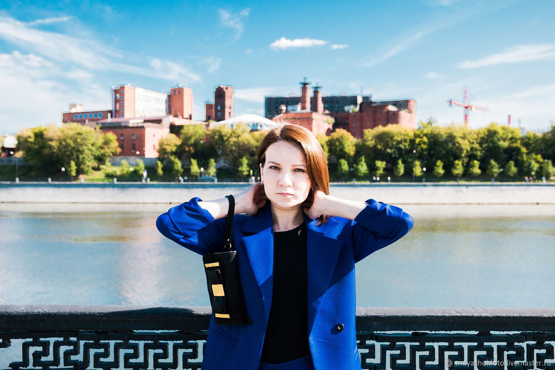 Фотосессия: Цвет настроения синий, Фото, Москва,  Фото №1