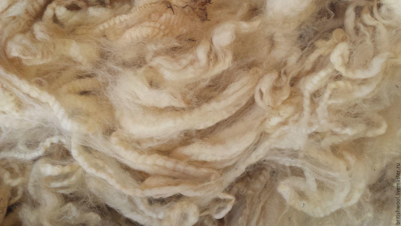 Валяние ручной работы. Ярмарка Мастеров - ручная работа. Купить Флис овечки Ромни. Первая стрижка. 4кг. Handmade.