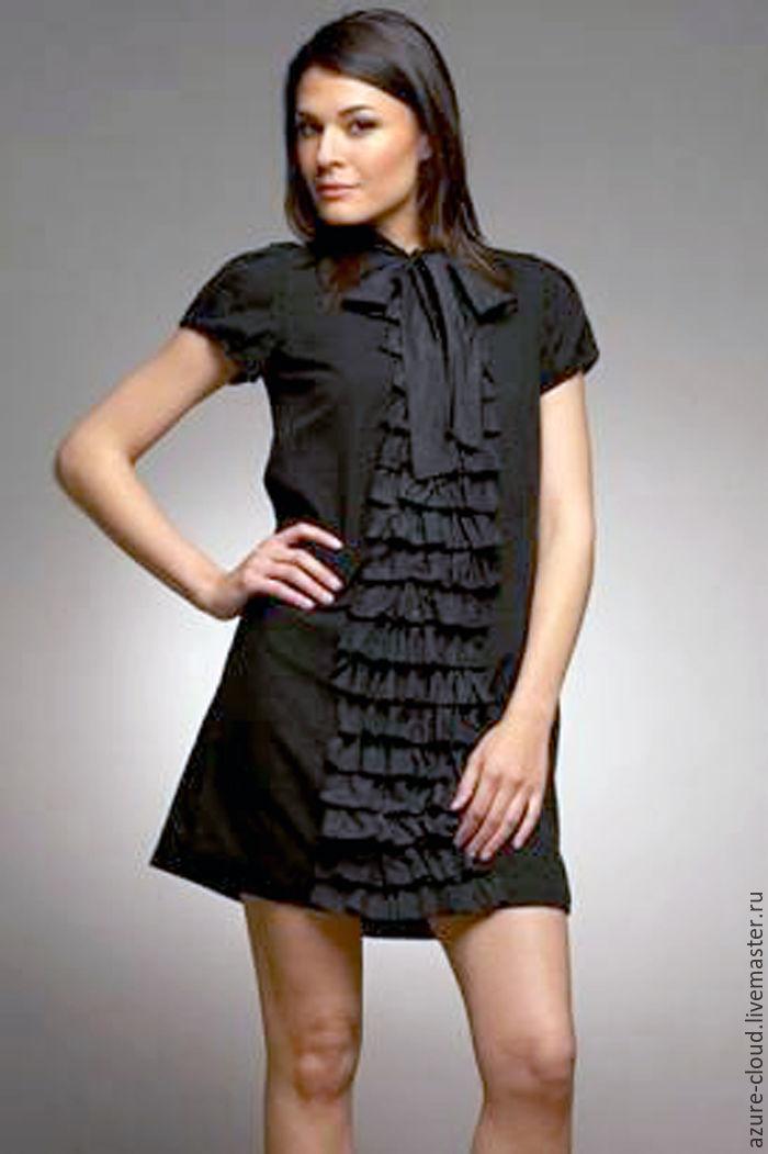 Украшения на платье из рюш