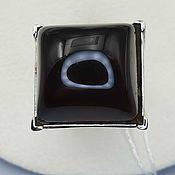 Украшения handmade. Livemaster - original item Silver ring with rauchtopaz 18h17 mm. Handmade.