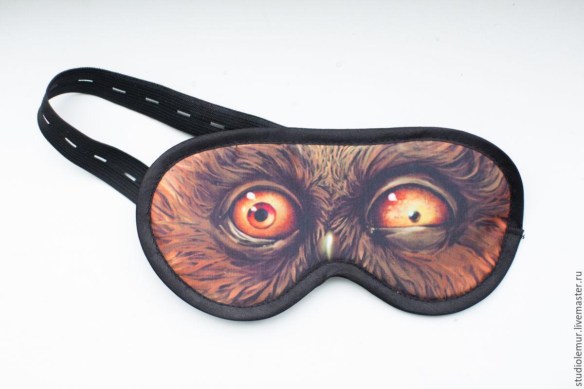 Как сделать ночная маска для глаз
