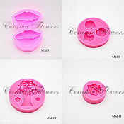 Материалы для творчества handmade. Livemaster - original item Silicone molds for making flowers. Handmade.