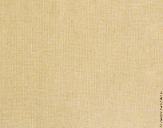 Шитье ручной работы. Ярмарка Мастеров - ручная работа. Купить Ткань Хлопок Бязь Пшено желтое. Handmade. Бязь