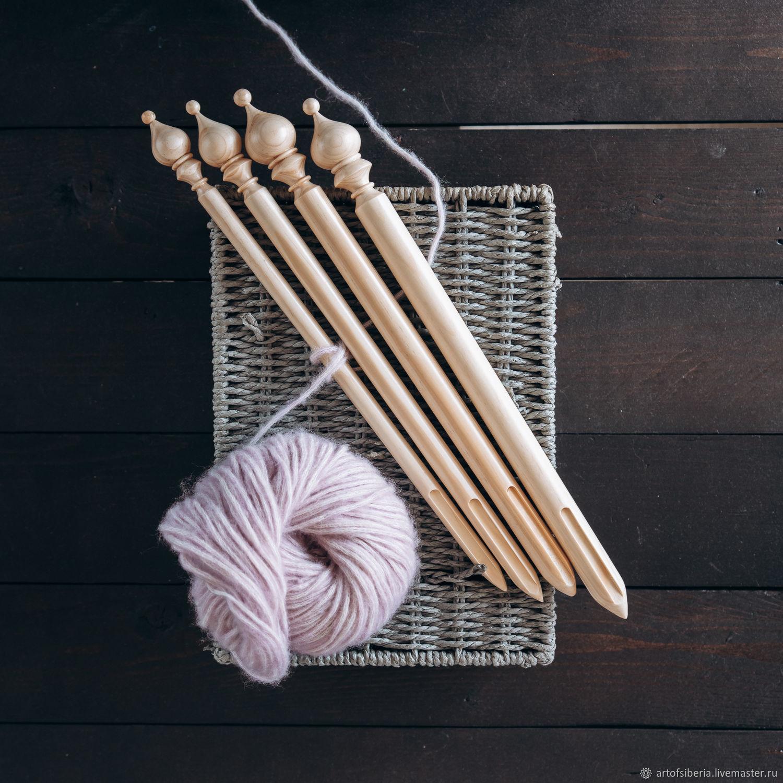 Набор брумстиков (палочек) для перуанского вязания BrN1, Инструменты для вязания, Новокузнецк,  Фото №1