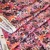"""Ткани ручной работы. Ярмарка Мастеров - ручная работа Шелк атласный """"Alberta Ferretti"""". Италия. Handmade."""