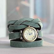 "Часы наручные ручной работы. Ярмарка Мастеров - ручная работа Часы ""Мятные"". Handmade."