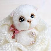 Куклы и игрушки ручной работы. Ярмарка Мастеров - ручная работа Кошечка Мэри авторская игрушка Тедди. Handmade.