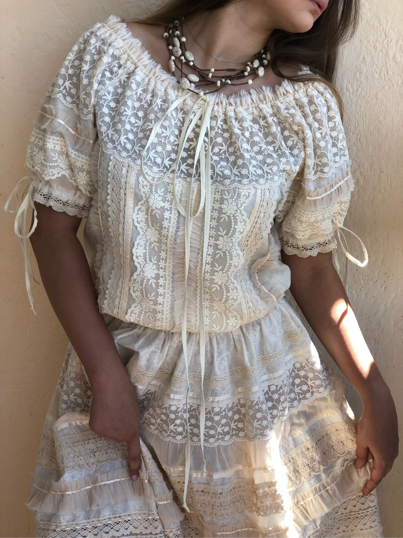 Cream Short Dresses