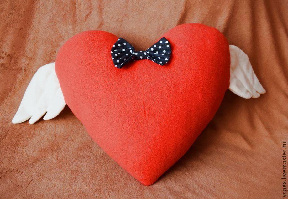 Подушка сердце своими руками мастер класс фото 25