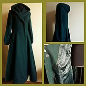 Одежда handmade. Livemaster - original item Long demi-season coat. Handmade.