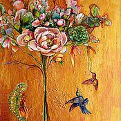 Картины и панно ручной работы. Ярмарка Мастеров - ручная работа Маленькая прелесть. Handmade.