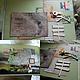 """Фотоальбомы ручной работы. Альбом для фотографий и воспоминаний """"Вокруг света"""". Мастерская babUshka (Вика и Мари). Интернет-магазин Ярмарка Мастеров."""
